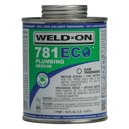Medium-Bodied Plumbing Cement pint can
